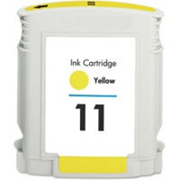 Compatible HP C4838AN (HP 11 Yellow) Yellow Ink Cartridge