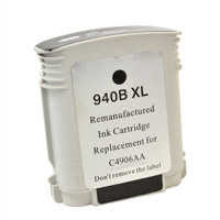 Compatible HP C4906AN (HP 940XL Black) Black Ink Cartridge