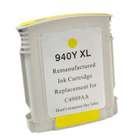 Compatible HP C4909AN (HP 940XL Yellow) Yellow Ink Cartridge