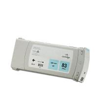 Compatible HP C4944A (HP 83 Light Cyan) Light Cyan Pigment Ink Ink Cartridge
