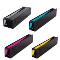 Remanufactured HP 970XL Black Ink, HP 971XL Inks Set of 4 High-Yield Inkjet Cartridges
