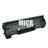 Remanufactured HP CE285A (HP 85A) Black Laser Toner Cartridge with MICR - Replacement Toner for HP LaserJet P1102, P1102W, M1212nf
