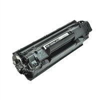 Remanufactured HP CB436A (HP 36A) Black Laser Toner Cartridge with MICR - Replacement Toner for LaserJet P1505, M1522