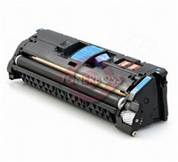 HP Q3972A (123A) Remanufactured Yellow Laser Toner Cartridge