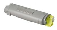 Compatible Okidata 43324417 Yellow Laser Toner Cartridge for the C5550, C6100 Series