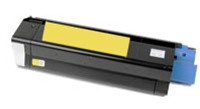 Compatible Okidata 43034801 Yellow Laser Toner Cartridge for the C3100, C3200 Series