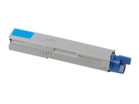 Compatible Okidata 44059111 (C14) Cyan Laser Toner Cartridge