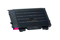 Toner Cartridge Compatible with Samsung CLP-500D5M (CLP-500) Magenta Laser Toner Cartridge