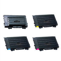 Toner Cartridges Compatible with Samsung CLP-500 Set of 4 Laser Toner Cartridges