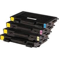 Compatible Samsung CLP-510 Set of 4 High Capacity Laser Toner Cartridges (1 Black, 1 Cyan, 1 Yellow, 1 Magenta)