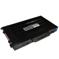 Compatible Samsung CLP-510D5C (CLP-510) High Capacity Cyan Laser Toner Cartridge