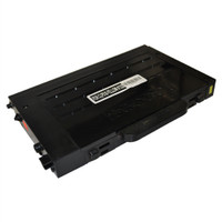 Compatible Samsung CLP-510D5Y (CLP-510) High Capacity Yellow Laser Toner Cartridge