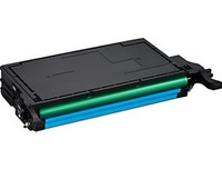 Compatible Samsung CLP-C660B High Yield Cyan Laser Toner Cartridge - Replacement Toner for CLP-610, CLP-660, CLX-6200