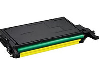 Compatible Samsung CLP-Y660B High Yield Yellow Laser Toner Cartridge - Replacement Toner for CLP-610, CLP-660, CLX-6200
