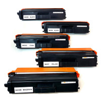 Brother TN433 Toner High Yield Cartridges 5-Pack (2 TN433BK)