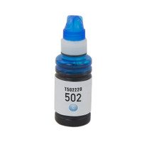 Epson T502 T502220 Cyan High-Yield Ink Remanufactured Cartridge