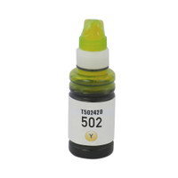 Epson T502 T502420 Yellow High-Yield Ink Remanufactured Cartridge