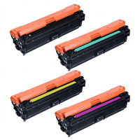 HP 651A Toner Cartridges Pack (CE340A CE341A CE342A CE343A) Replacement