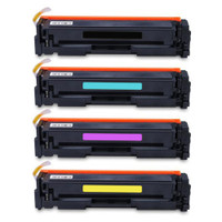Compatible HP 202A Toner Cartridge Color Set (CMYK)