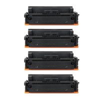 Canon 055 Compatible High Yield Toner Cartridges Set of 4 CMYK