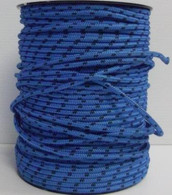 Rope 6mm Spectra - Blue with Black fleck (per metre)