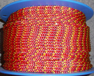 Rope 4mm Low Stretch 8 Plait Vectran core - Red (per metre)