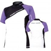 Magic Marine Energy Rash Vest - Purple SS Womens