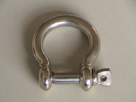 Bow Shackle Round Body S/S 6mm