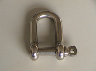 Dee Shackle Round Body S/S 6mm