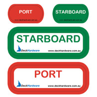 Port Starboard sticker sheet