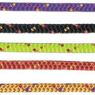 Off cut - 3mm Spider line - Black with fleck 4.25m