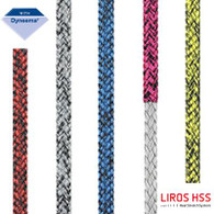 Rope 5mm Liros Magic Edge - Yellow/Black (per metre)