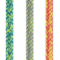 Rope 5mm Liros Magic Sport - Yellow/Silver (per metre)