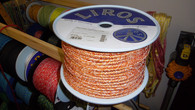 Rope 7mm Liros Magic Sheet - Orange (per metre)