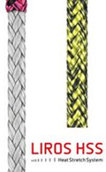 Laser Traveller Sheet Rope 5mm Black/Yellow