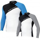 Magic Marine Energy Rash Vest - Blue LS Mens