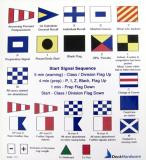 Flag code sticker sheet