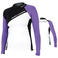 087912b3b55a84 Magic Marine Energy Rash Vest - Purple LS Womens