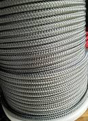 Rope 6mm IRB braid with dyneema core - Solid Grey (per metre)