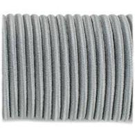 5mm shock cord - Grey per metre