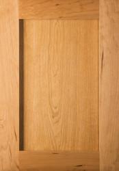 Unfinished Cherry Shaker Door