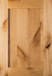 Unfinished Rustic Alder Shaker Door