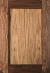 Unfinished Walnut Shaker Door