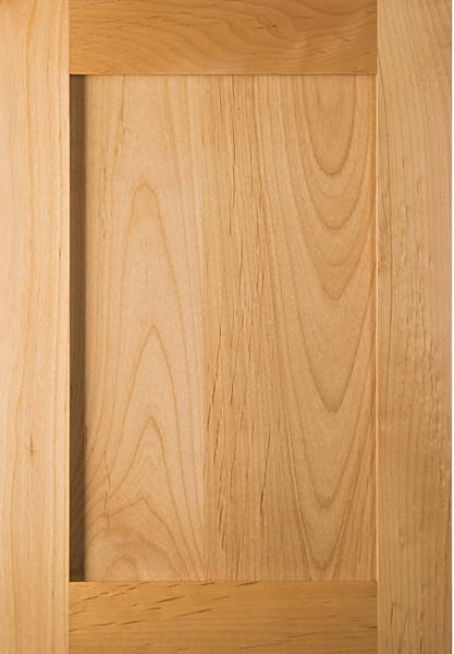 Unfinished Shaker Superior Alder Door