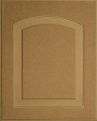 Unfinished Solid MDF Eyebrow RAISED Panel Door Style