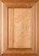 """Belmont"" Cherry Raised Panel Cabinet Door in Clear Finish"