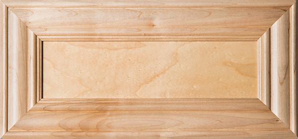 """""""Belmont"""" Unfinished Superior Alder Flat Panel Drawer Front"""