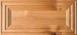 """""""Linville"""" Rustic Alder Flat Panel Drawer Front Image"""