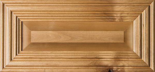 """Linville"" Rustic Alder Raised Panel Drawer Front Image"