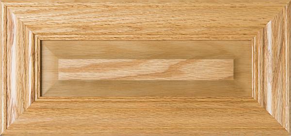 """Belmont"" Unfinished Oak Raised Panel Drawer Front"